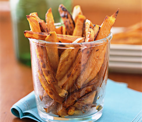 Real. Easy. Meals. » Oven-Baked Yam Fries
