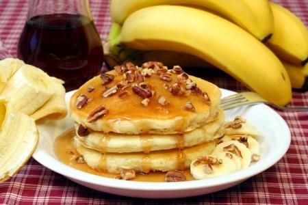 banana nut pancake